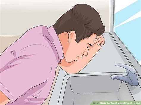 not and throwing up 3 ways to treat vomiting at home wikihow