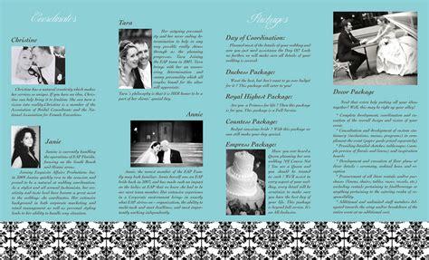 Wedding Planner Brochure by Wedding Planner Brochure Practice P2 Wedding Planner