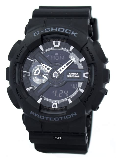 G Shock Ga 110 casio g shock ga 110 1b ga 110 1 mens downunderwatches