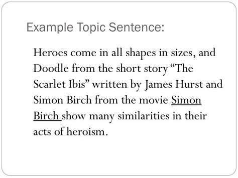 how to use doodle in sentence ppt writing workshop the compare or contrast paragraph