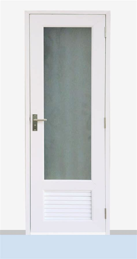 bathroom upvc windows toilet bathroom back yard pvc door from china supplier