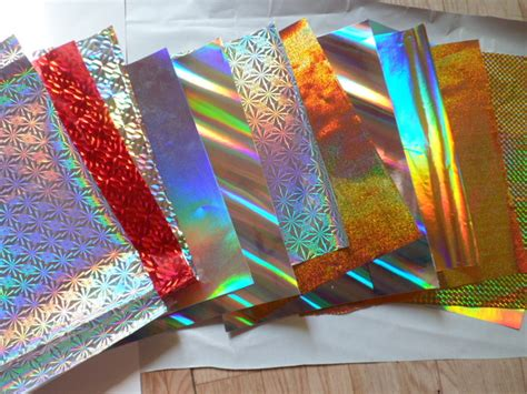 How To Make Holographic Paper - holographic paper