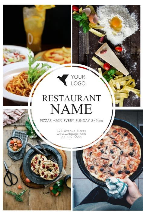 Top 10 Templates From The Design Community Vol 8 Design Studio Restaurant Flyers Templates Free