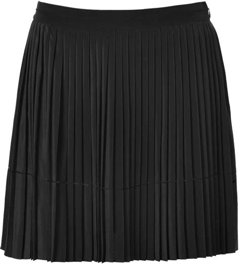 bruno ath silk pleated skirt in black where to