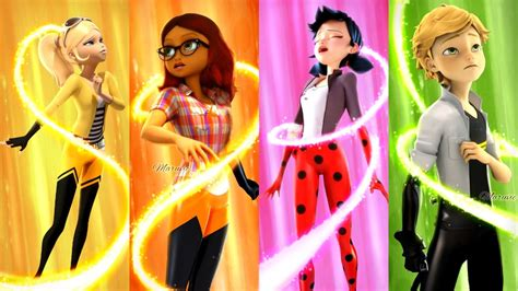 Shoo Bee Doo Fanmade edit the great reveal new heroes transformations aly