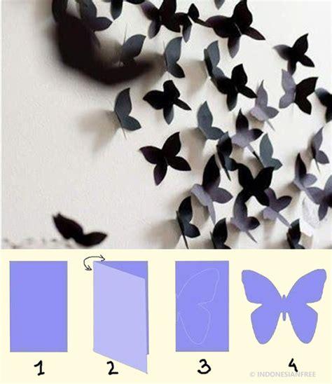membuat hiasan dinding dari kertas origami 6 inspirasi membuat hiasan dekorasi untuk kamar tidur yang