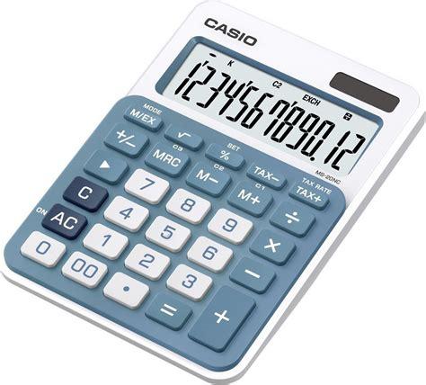 Casio Ms 20 Nc Kalkulator Blue Ms20nc casio ms 20nc bu skroutz gr