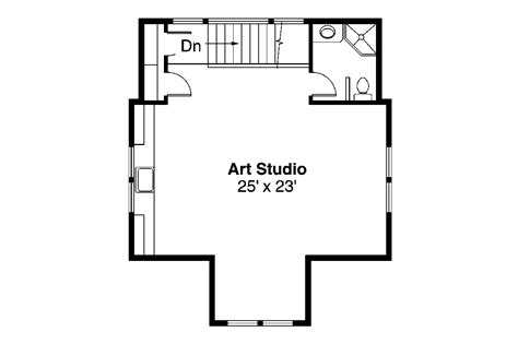 2 story floor plans with garage craftsman house plans garage w studio 20 007