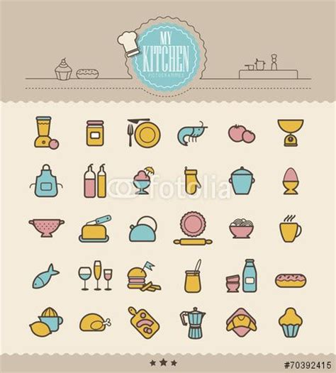 10 best images about icons on kitchen