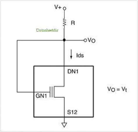 diode mosfet diode connected mosfet