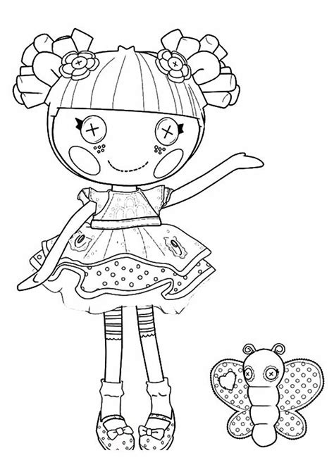 lalaloopsy coloring pages mittens 13 best color lalaloopsy images on pinterest lalaloopsy