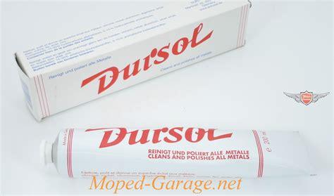 Chrom Alu Polieren by Moped Garage Net Dursol Chrom Metall Alu Edelstahl