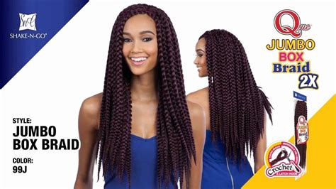 Boxy Sweater Premium Jumbo freetress equal synthetic braid que jumbo box braid 2x wigtypes