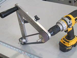 bench grinder belt sander conversion tool post grinder those videos show you haow you can use