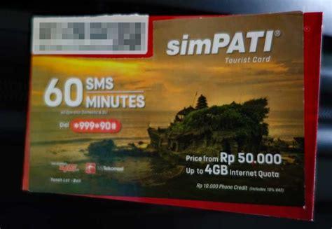 Simpati 10gb 1 バリ島の空港で買った telkomsel のトラベラーsim simpati は10gbで3000円だった やじり鳥