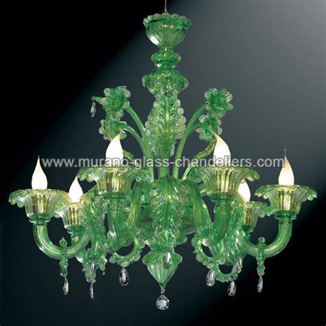 Green Chandelier Lighting Quot Giada Quot Green Murano Glass Chandelier Murano Glass Chandeliers