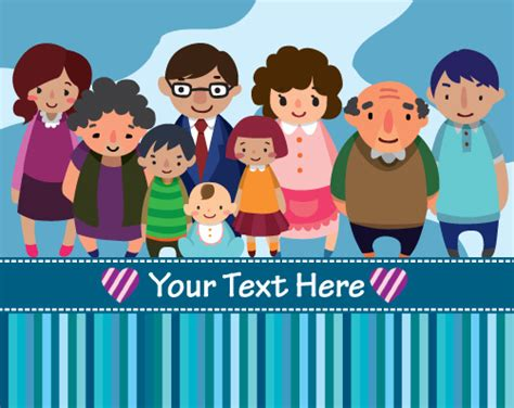 family gathering design vector family free vector download 487 free vector for
