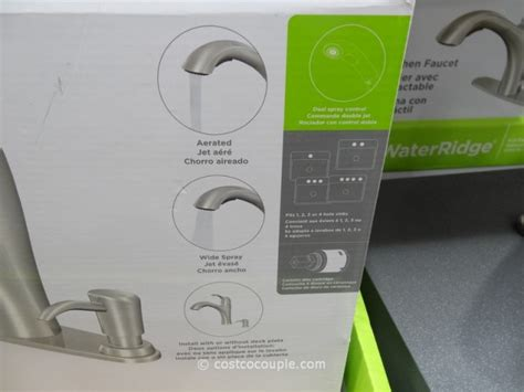Water Ridge Faucet Costco by Water Ridge Pull Out Kitchen Faucet