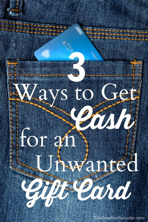 Get Cash For Gift Card - 3 ways to get cash for an unwanted gift card money saving mom 174