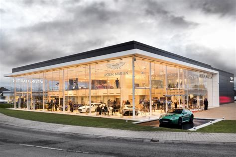 aston martin showroom stoneacre opens aston martin showroom in newcastle