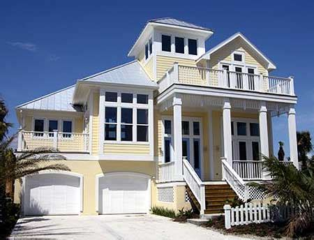 Coastal Beach House Plans by House Plans On Pilings House Design