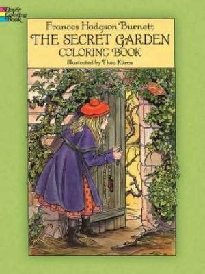 the secret garden books the secret garden coloring book frances hodgson burnett