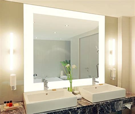 wand mit spiegel gestalten badspiegel mit beleuchtung vella m444l4 design spiegel fr