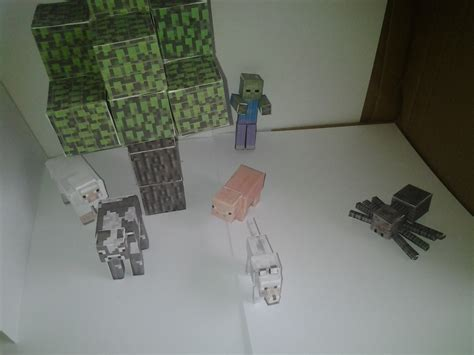 Papercraft Home - home minecraft papercraft home design idea