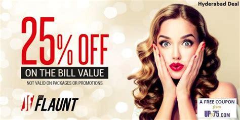haircut coupons hyderabad just flaunt salon somajiguda hyderabad coupons beauty