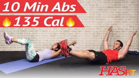 10 minute ab workout at home 10 min abs workout for