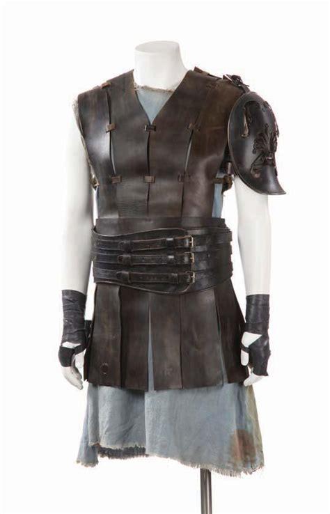 gladiator film costume designer russell crowe two hero costumes from gladiator
