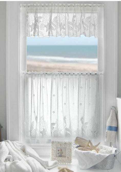 ocean themed curtains ocean themed lace curtains decorating ideas and