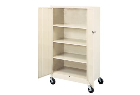 mobile metal storage cabinet discount supply
