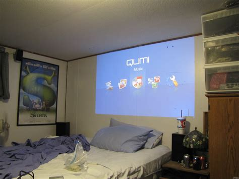 bedroom projector projector in bedroom vivitek qumi q2 hd led pocket
