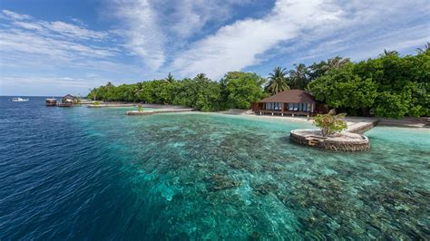 Beach House Floor Plan by Lily Beach Maldives Lagoon Villa