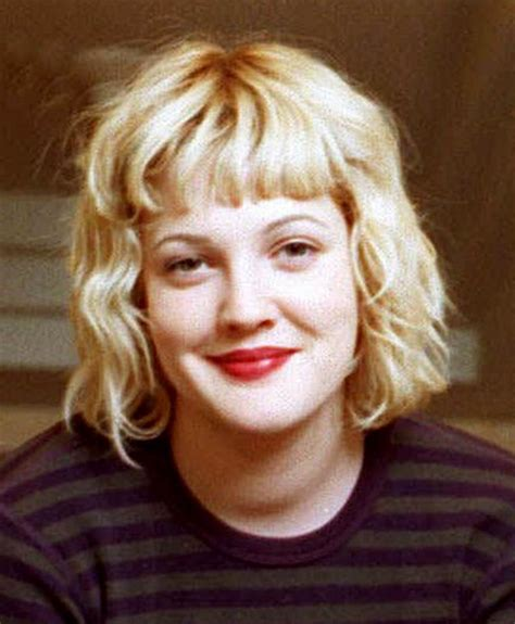 drew barrymore s hair evolution from e t to big