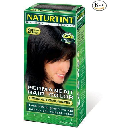 naturtint permanent hair color naturtint permanent hair color 2n black brown walmart