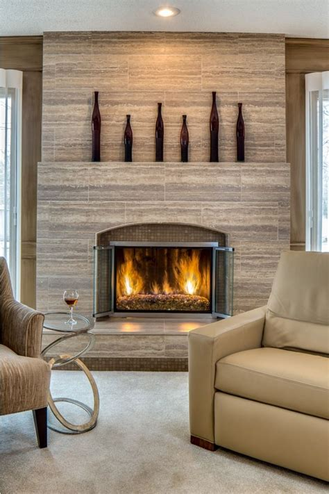 best 25 fireplace refacing ideas on airstone