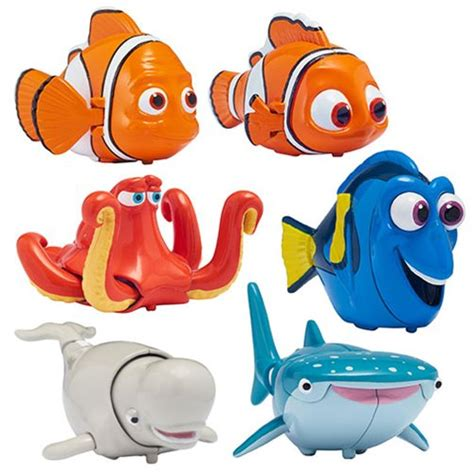 Wcf Finding Nemo Figure Nemo finding dory swigglefish set bandai finding nemo finding dory figures at