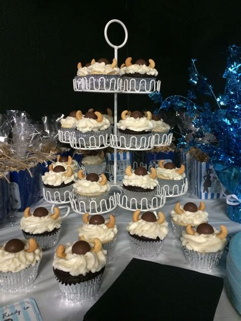 viking themed events cupcake stand for viking themed baby shower baby shower
