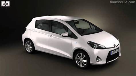 Yaris Interior Toyota Yaris Vitz Hybrid 2013 By 3d Model Store