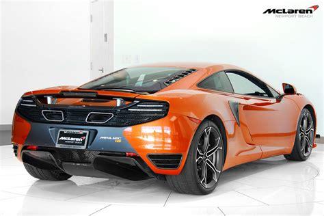 orange mclaren 12c orange mclaren 12c high sport looks stunning gtspirit