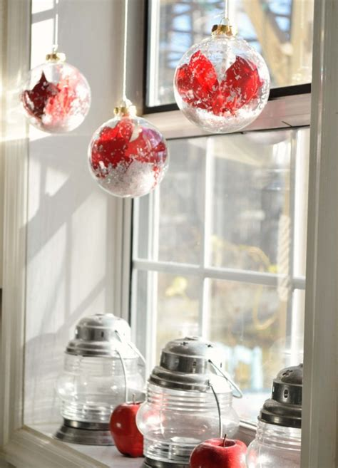 Weihnachtsdeko Fenster Kugeln by Weihnachtsdeko Fenster 30 Hervorragende Fensterdeko