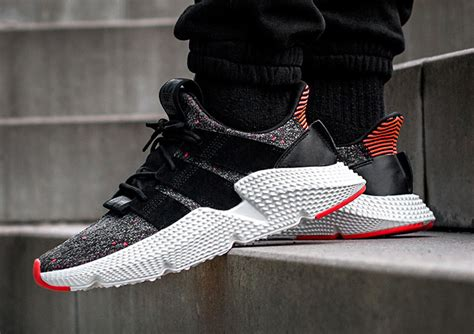 adidas prophere adidas prophere core black solar red cq3022 sneaker bar