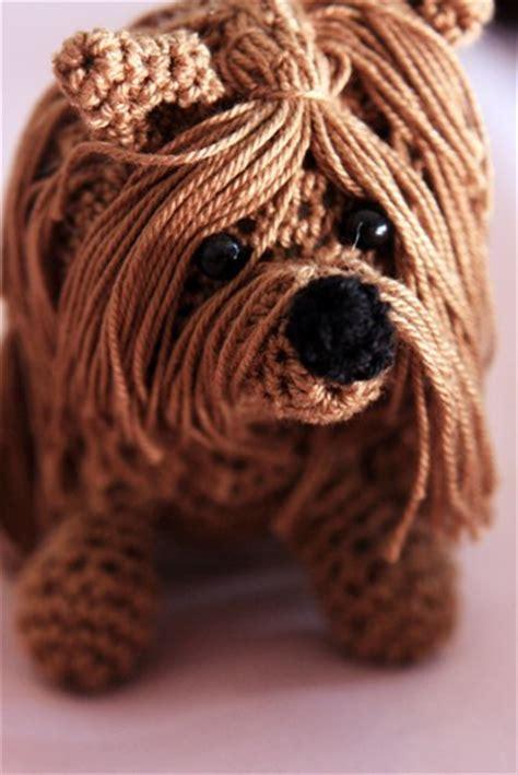 crochet pattern yorkshire terrier crochet dog pattern yorkshire terrier doll deadcraft
