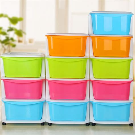 Multi Coloured Plastic Storage Drawers by Coloured Plastic Storage Drawers Sorbus 8 Drawer