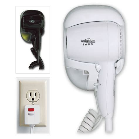Hair Dryer Wall Mounted Hotel lodgmate wall mounted hotel hair dryer w light