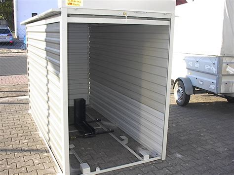 motorad garage motorradgarage kleingarage mit metallrollo agur trailer