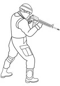 Special Forces Soldier Coloring Page Free Printable Coloring Pages For Soldiers