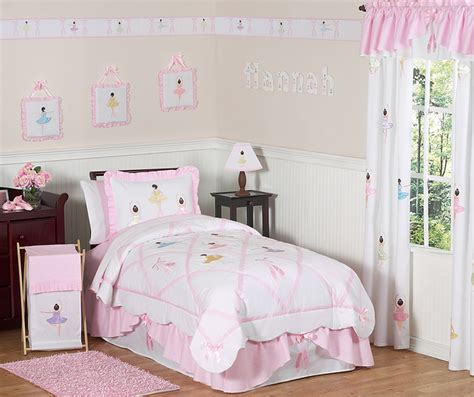 ballerina bedding sweet jojo designs pink white ballerina ballet unique bedding set ebay